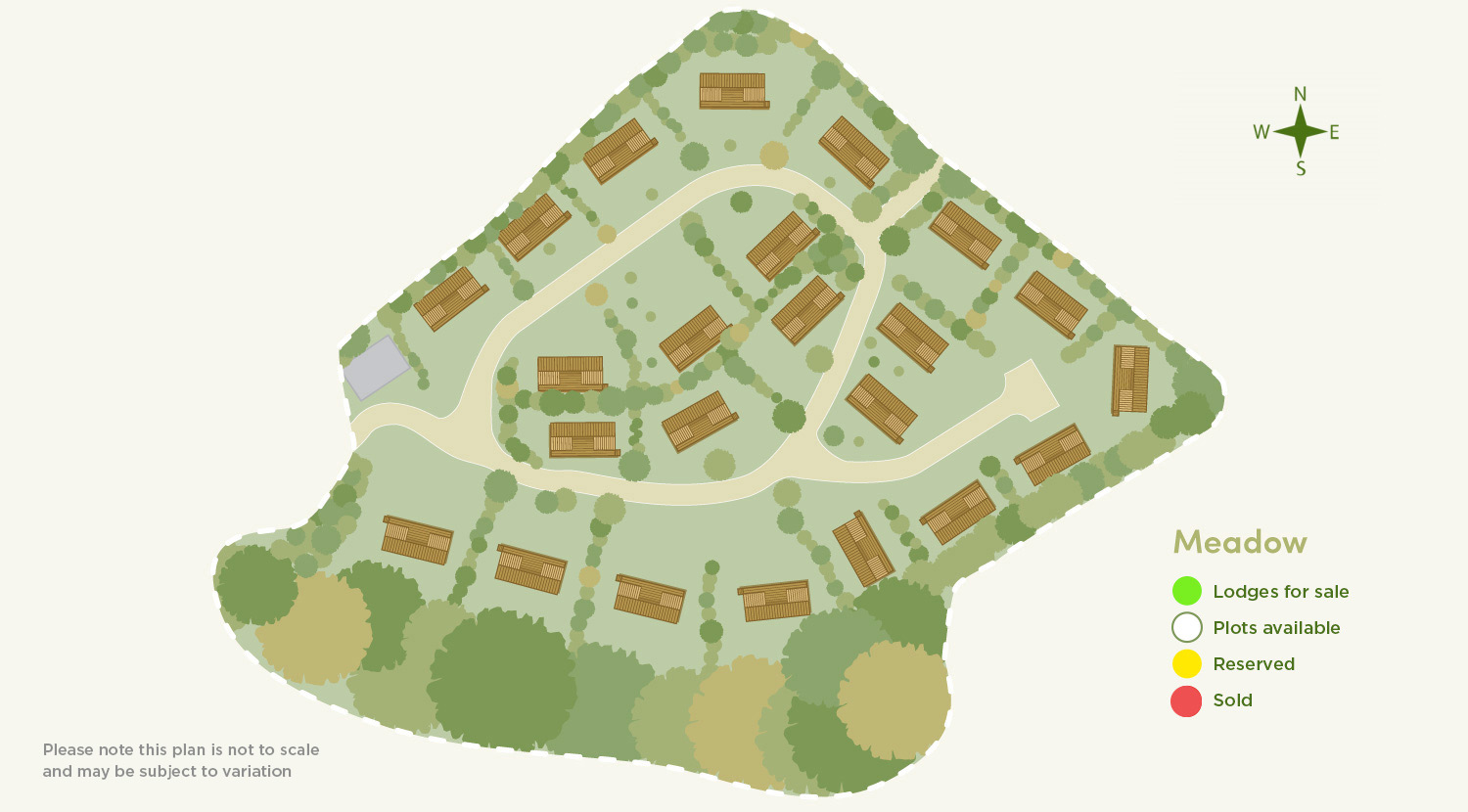 site-map - Palstone lodges - Devon